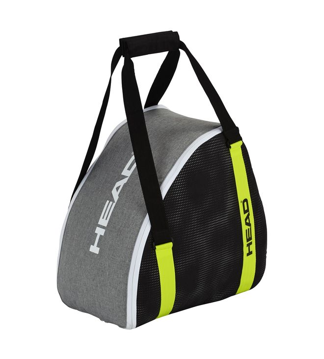 Ski Boot Bag Antracite/Grey-Neon Yellow